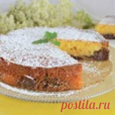 Бисквит с двойным кремом Кулинарный рецепт