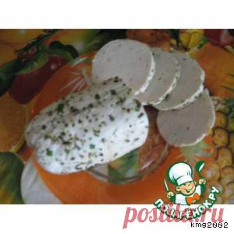 La salchicha cocida de casa - la receta de cocina