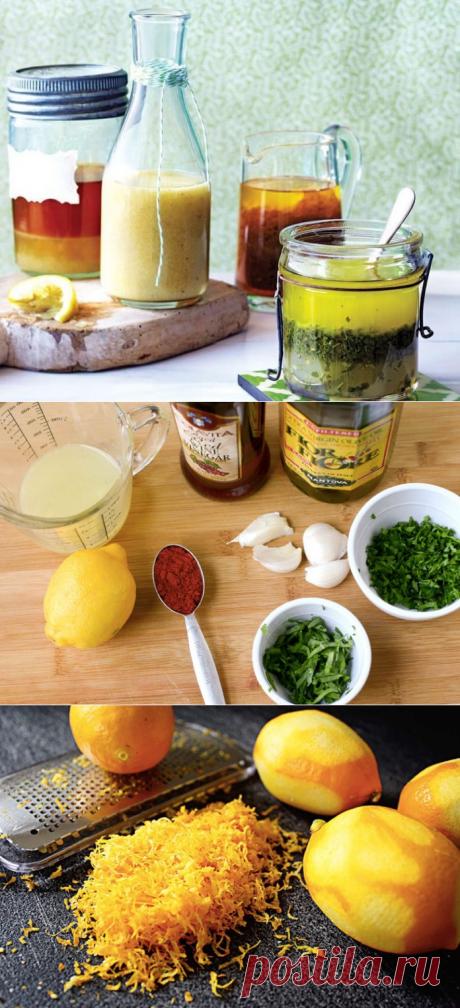 6 лучших рецептов лимонных заправок