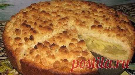 Царский яблочный пирог: Потрясающе вкусный