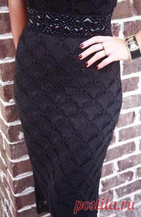Миленький узор для нежного платья