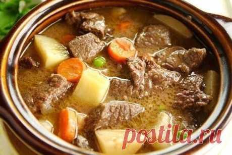 Как приготовить тушеная говядина с овощами - рецепт, ингредиенты и фотографии