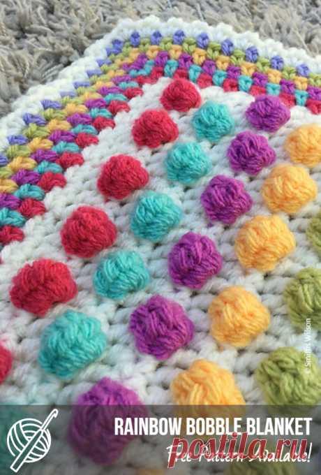 Cute Crochet Baby Blanket Patterns   Patterns Center #crochetbabyblanket #crochetforbaby #crochetbubbles