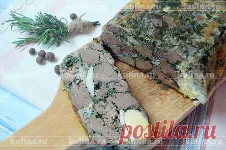 Дроб из печени по-румынски – рецепт приготовления с фото от Kulina.Ru