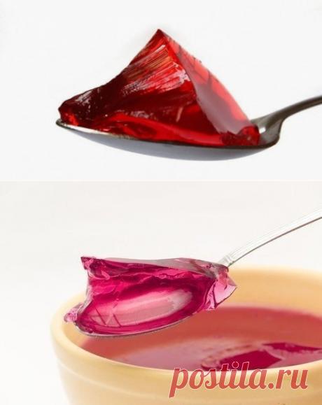 ¡Como criar correctamente la gelatina! ¡Ahora le resultará exactamente!   Cuatro gustos