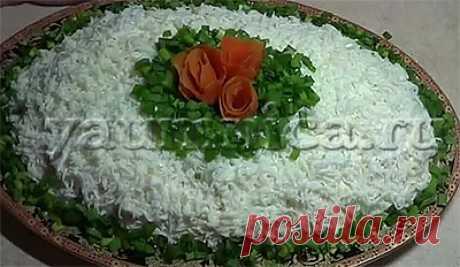 Вкусный салат с мясом и грибами к праздничному столу – пошаговый фото рецепт