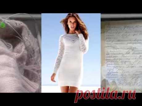 Платье спицами по мотивам VICTORIA'S SECRET часть 1, расчеты