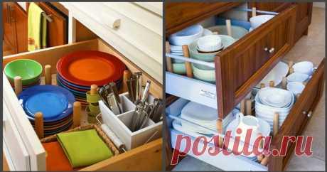 Все под рукой: интересные варианты хранения посуды. Независимо от больших или маленьких размеров кухни, часто перед ее владельцем встает вопрос: где хранить всю посуду и домашнюю утварь?