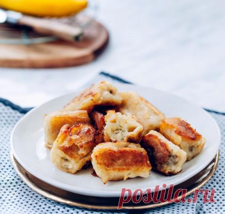 Жареные бананы рецепт с фото | Cookingfood.com.ua