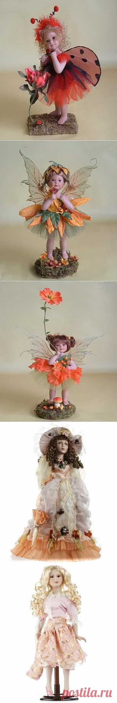 Милые куклы из фарфора – стильные элементы интерьерного декора, от 76 грн / Акции