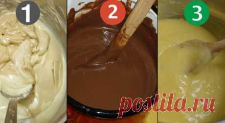 Научитесь готовить эти 3 крема для тортов и пирожных в домашних условиях. Всё что вам понадобится – это несколько ингредиентов и 20 минут времени! — Мир интересного