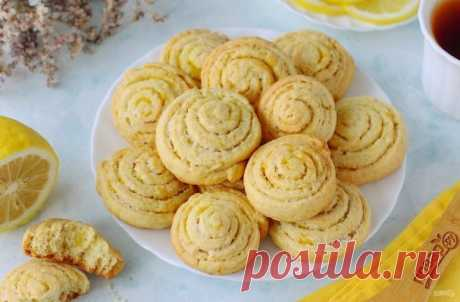 Лимонное печенье на кефире - пошаговый рецепт с фото на Повар.ру