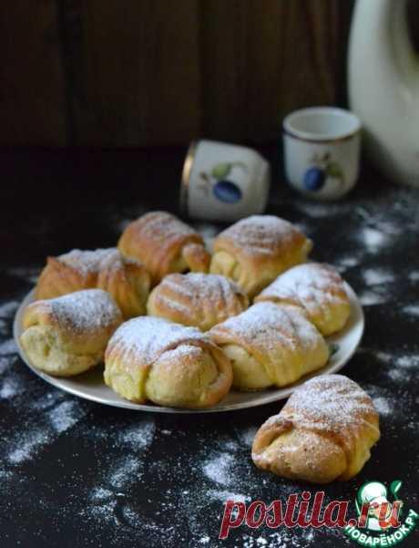 Мини-рогалики с повидлом – кулинарный рецепт