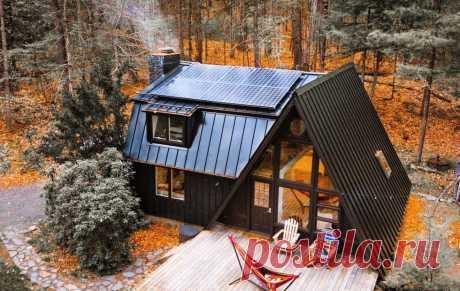 Настроение осень: 40+ уютных домиков в лесу — INMYROOM