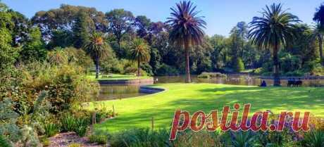 Королевский ботанический сад, Мельбурн (Австралия)