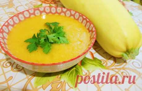 Суп-пюре из кабачков – пошаговый рецепт с фотографиями