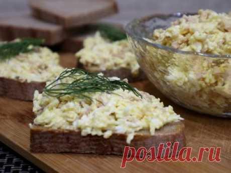 Намазка на хлеб из печени трески и плавленого сырка - простой и вкусный рецепт с пошаговыми фото