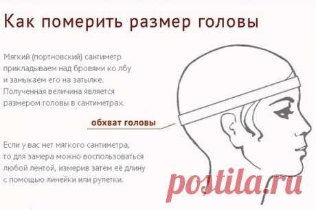 Как измерить обхват головы, чтобы шапка (повязка и т.п) подошла по размеру? из категории Интересные идеи – Вязаные идеи, идеи для вязания