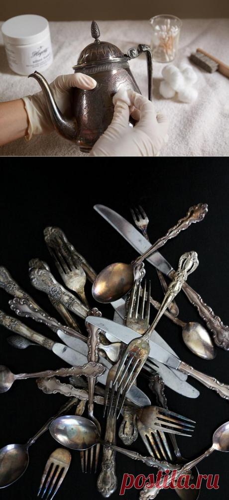 Чем чистить серебро в домашних условиях? Самые эффективные способы