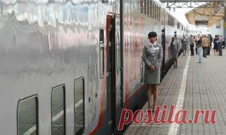Фотогалерея: Из Москвы впервые отправился двухэтажный поезд - Новости Mail.Ru
