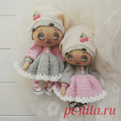 "Текстильная кукла ""Бамбина"" - Кукольная мастерскаяКукольная мастерская"