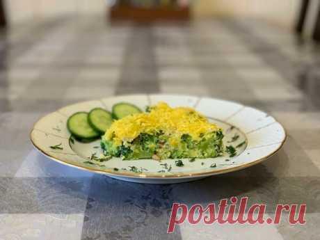 Запеканка из брокколи с сыром | Найди Свой Рецепт | Яндекс Дзен
