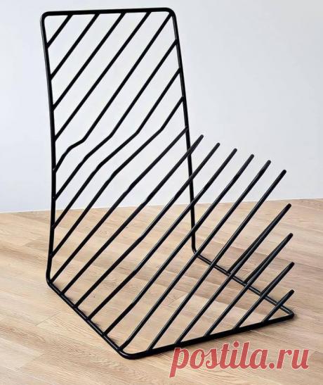 Стул by Oki Sato. Необычный железный (кованый или сварной) стул привнесет графики в любой интерьер в стиле лофт. С каждого ракурса выглядит иначе:Читать дальше