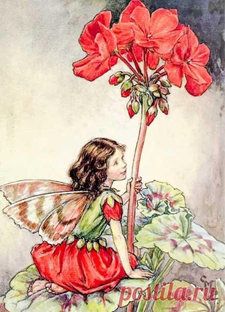 Cicely Mary Barker. Художник Сесиль Мэри Баркер (1895 - 1973)