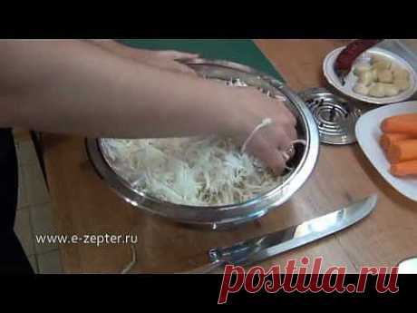 ▶ Салат из капусты с баклажанами / Cabbage salad with eggplant - YouTube