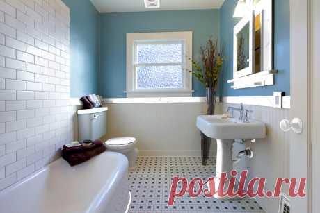 Как сделать бюджетный ремонт ванной комнаты [5 реальных идей]