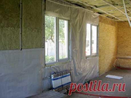 Почему нельзя утеплять стены изнутри: проблемы внутреннего утепления дома | Болтай