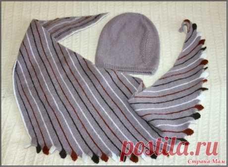 Осенний комплект для девочки - Вязание - Страна Мам