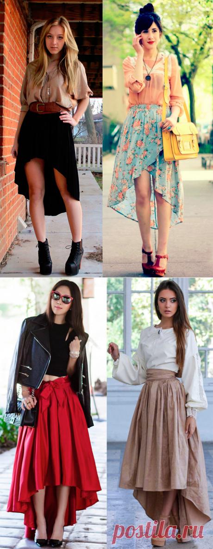Красивые юбки со шлейфом
