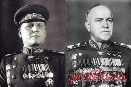 Зачем маршал Конев оклеветал Жукова