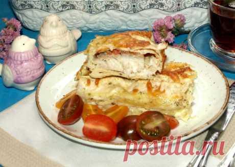 (3) Рыба в лаваше, запеченная в духовке - пошаговый рецепт с фото. Автор рецепта Gorelova Svetlana 🌳 . - Cookpad
