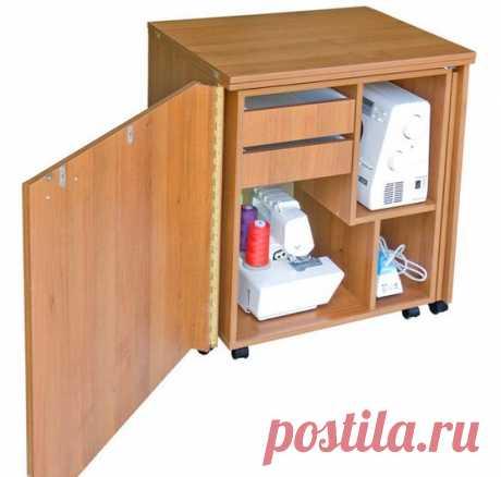 Изображение:Как сделать стол для швейной машинки своими руками: инструкция Найдено в Google. Источник: berkem.ru.
