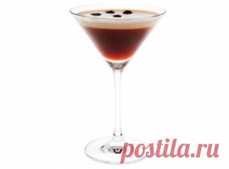 Коктейль с эспрессо и мартини | Кофе