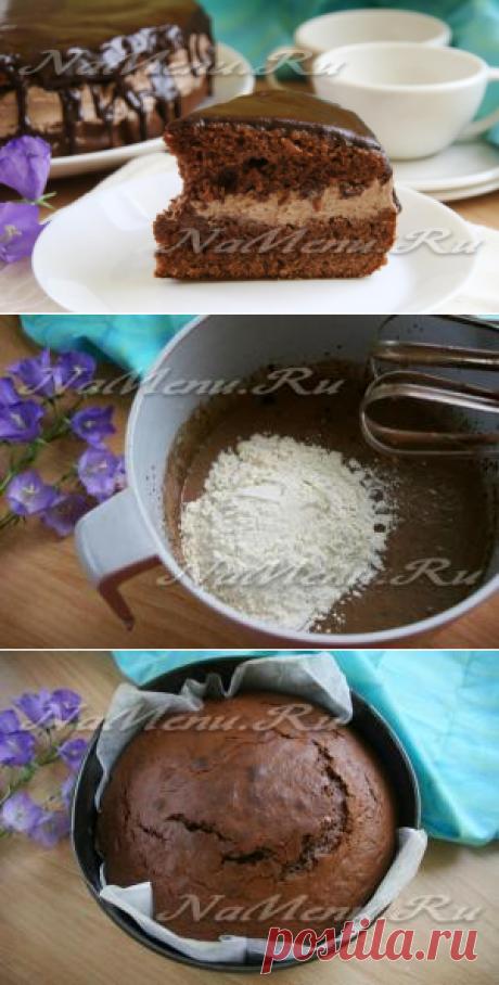 "La torta \""Praga\"", la receta de la foto poshagovo en las condiciones de casa"