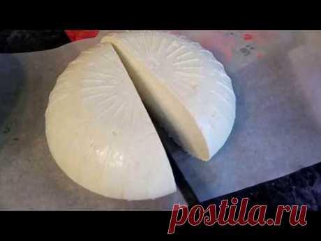 Сыр адыгейский - самый простой в приготовлении