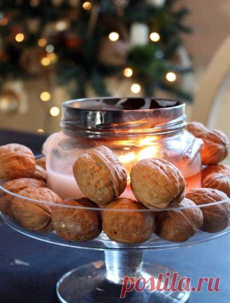 Орехи с пожеланиями на новый год – как сделать своими руками | Houzz Россия