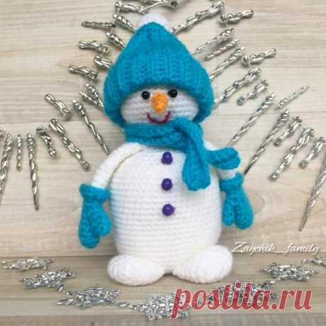 Снеговичек 17см