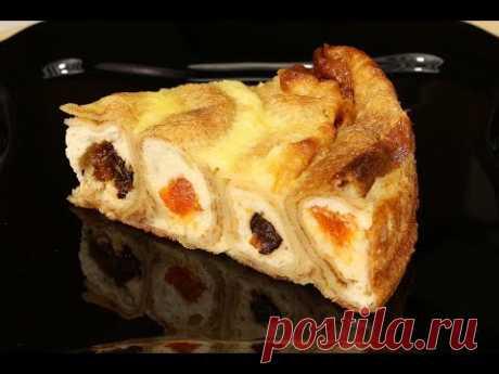 Ох, Уж Эти Блины! Блинный Пирог с Творогом - Это Сказочно Вкусно!