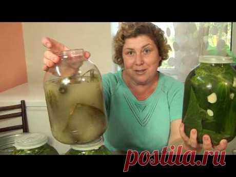 Посолить БОЧКОВЫЕ ОГУРЦЫ за 10 минут Быстро Просто БЕЗ УКСУСА!! - YouTube
