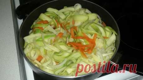 Необычное овощное рагу