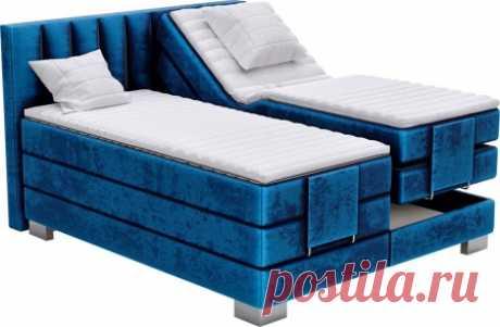 Кровать с электродвигателем «Леон»