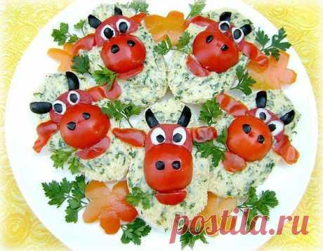 «Веселая коровка» | Кулинарное искусство