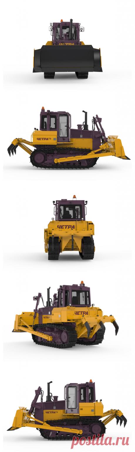 Купить бульдозер ЧЕТРА Т9 в Минске | Бульдозеры ЧЕТРА Т 9, технические характеристики, фото, цена