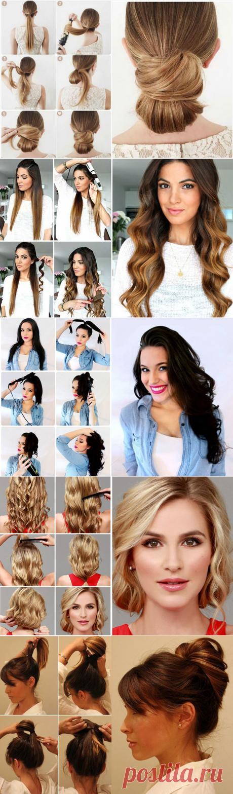 10 причесок на длинные волосы для женщин среднего возраста. Пошаговый гид | Новости моды