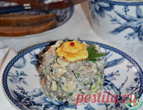 "Салат ""Мельник"" – кулинарный рецепт"