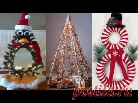 DIY Christmas Decor! Easy Fast DIY Christmas & Winter Ideas for Teenagers #34